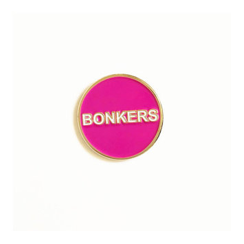 Tigerpocket Press Bonkers enamel pin