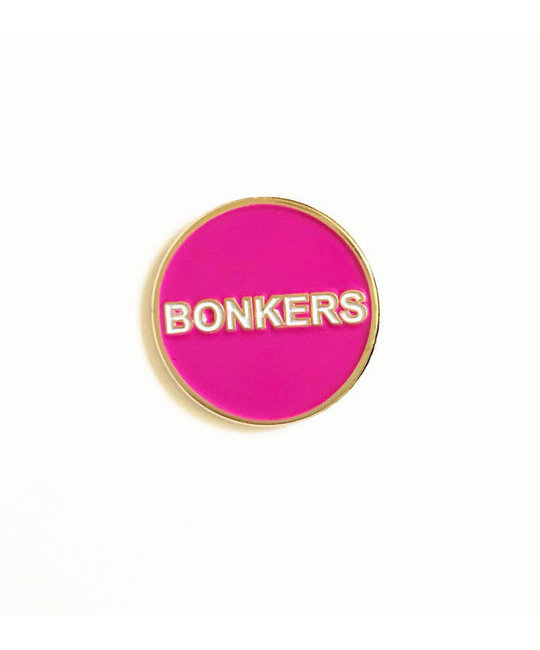 Tigerpocket Press - TPP Bonkers enamel pin