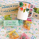 Gus and Ruby Letterpress - GR Tea Time Gift Box
