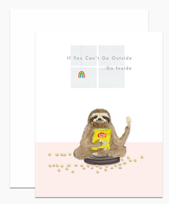 Dear Hancock - DH Meditative Sloth Card
