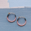 Alice Rise Electric Poppy Midi Colorloop Beaded Earrings