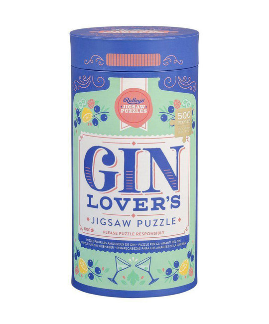Wild and Wolf Gin Lovers Jigsaw Puzzle