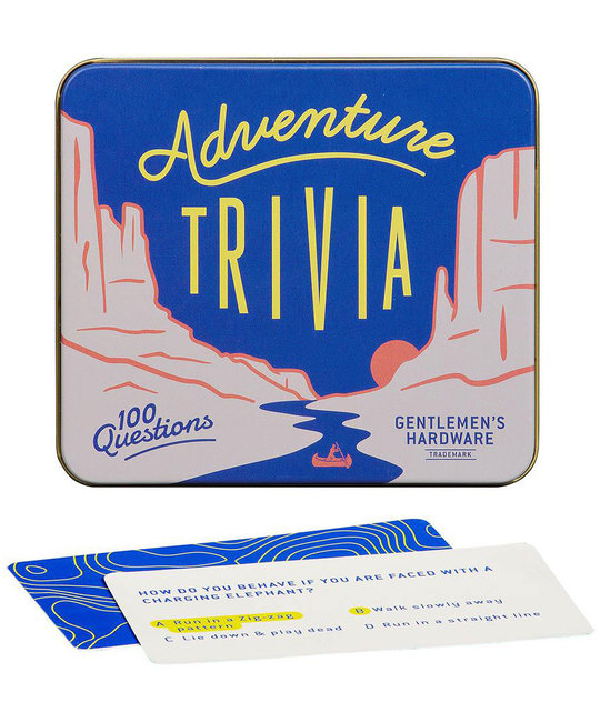 Gentlemen's Hardware - GH Adventure Trivia Game Tin