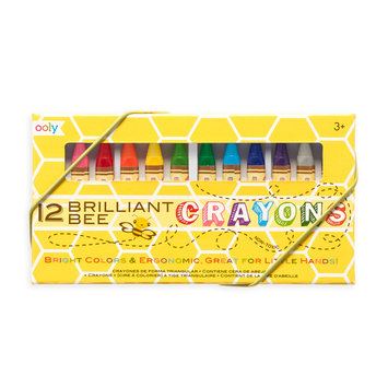 OOLY Brilliant Bee Crayons (Set of 12)