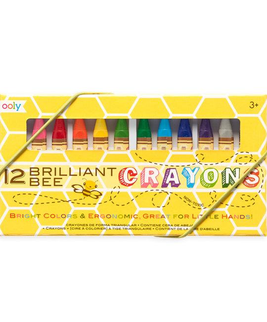 OOLY - OO Brilliant Bee Crayons (Set of 12)
