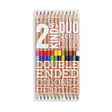 OOLY - OO 2 Of A Kind Double Ended Colored Pencils