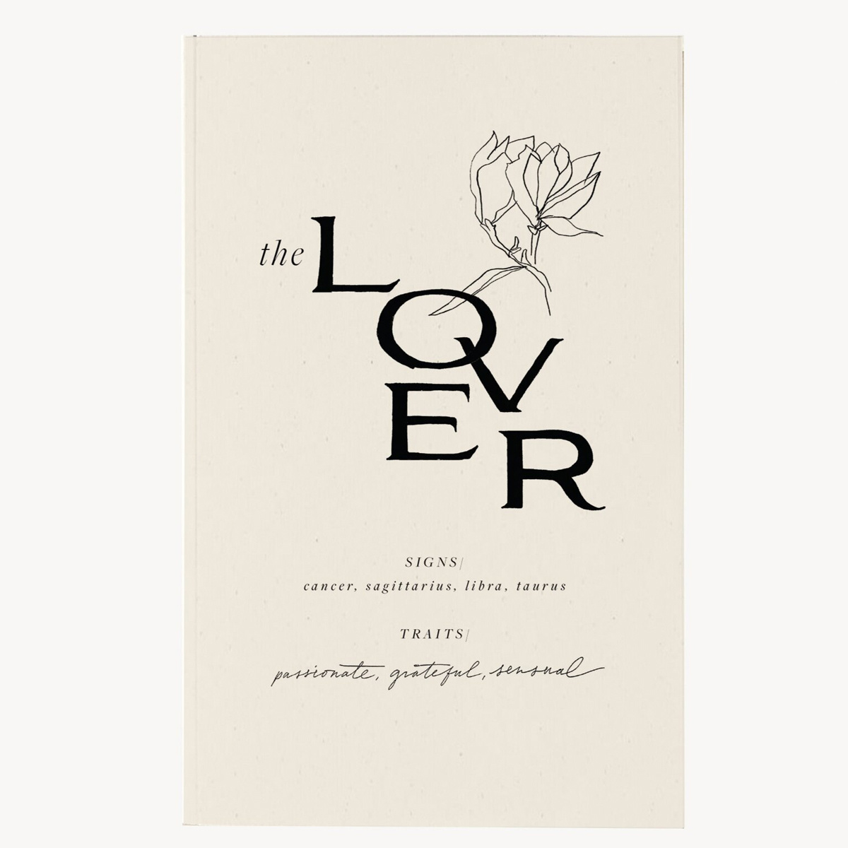 Wilde House Paper - WHP The Lover Journal