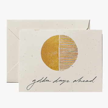 Wilde House Paper Golden Days Ahead