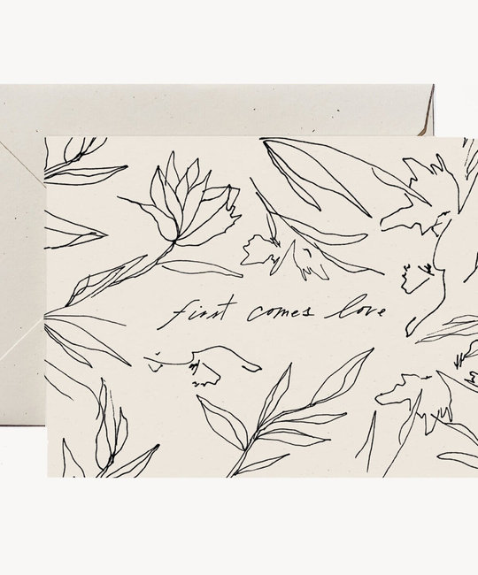 Wilde House Paper - WHP First Comes Love