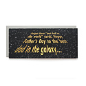 Wild Ink Press - WI Galaxy Dad Father's Day Card