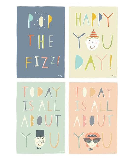 Freya Art A Little Box of Celebrations - set of 8