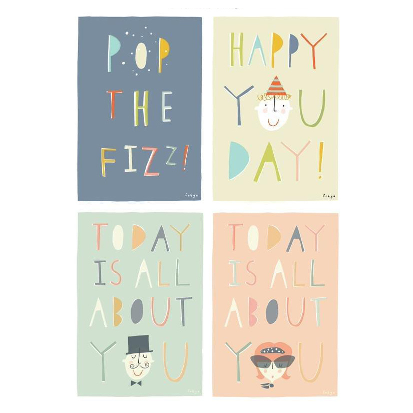 Freya Art A Little Box of Celebrations - set of 8