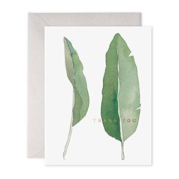 E. Frances Paper Studio Thank you Leaves, Set of 6