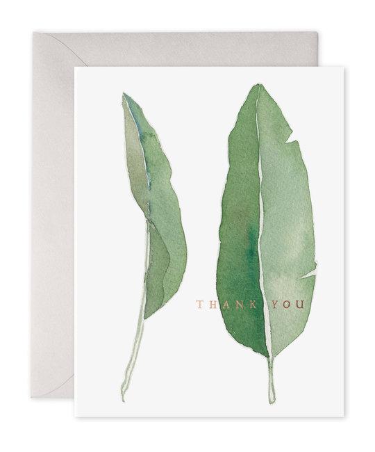 E. Frances Paper Studio - EF Thank you Leaves, Set of 6