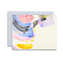 moglea Rainbow Swirl Note Set, Set of 6