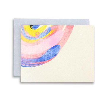 moglea Rainbow Swirl Note Set, Set of 6