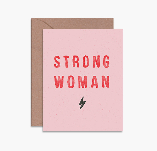 Daydream Prints Strong Woman