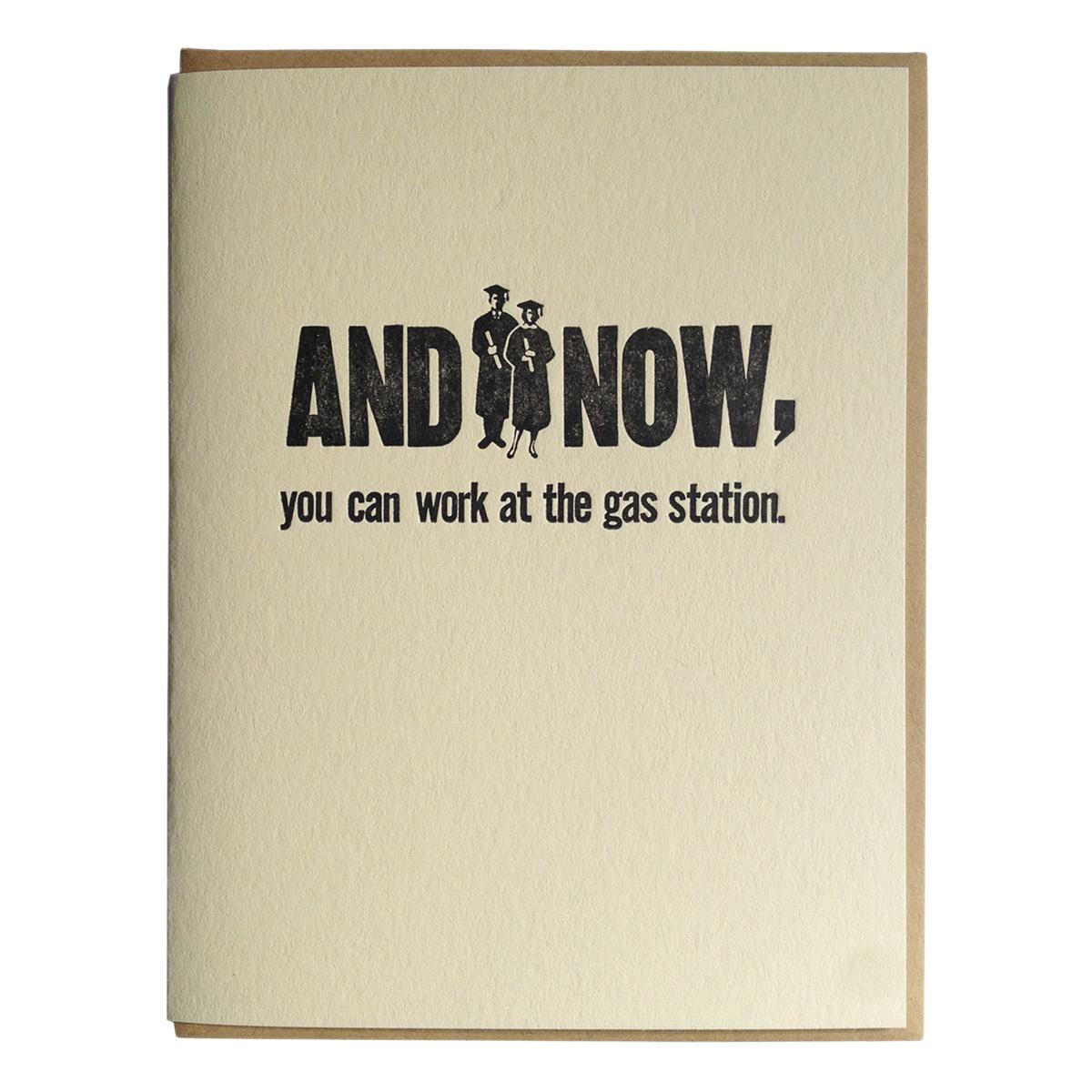 zeichen press Gas Station Grads