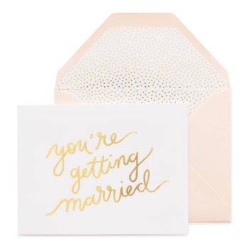 Sugar Paper You're Getting Married!