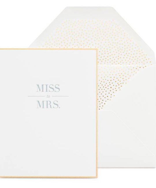 Sugar Paper - SUG Miss to Mrs.