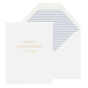 Sugar Paper I Love You Anniversary