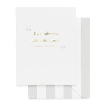 Sugar Paper Miracles Take Time