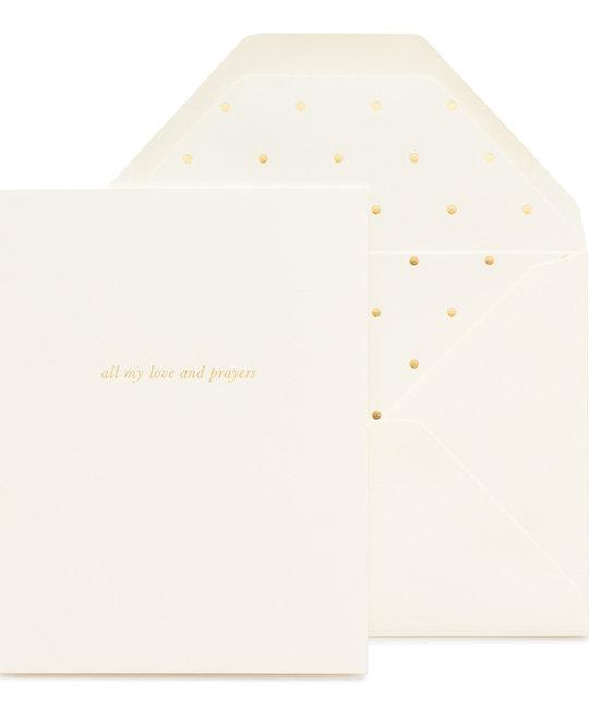 Sugar Paper - SUG All My Love and Prayers