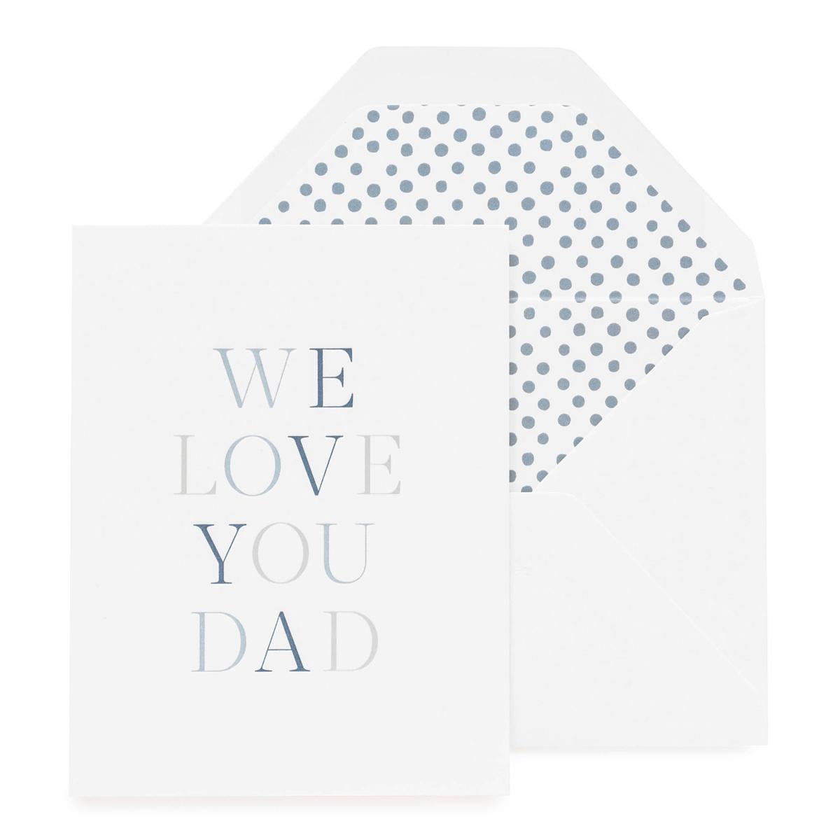 Sugar Paper We Love You, Dad