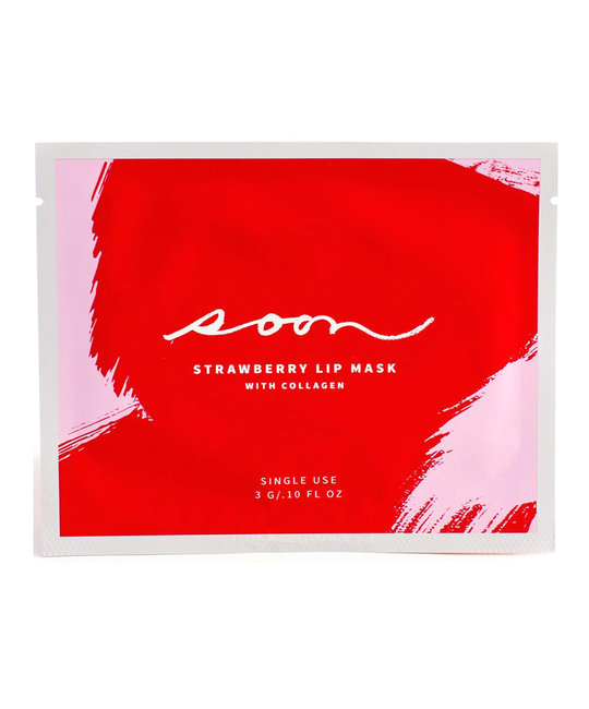 Soon Skincare - SS Strawberry Lip Mask With Collagen