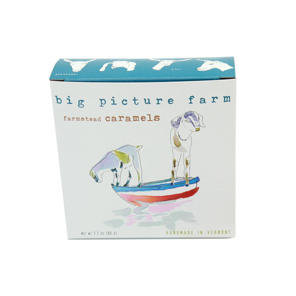 big picture farm Summertime Boat Box - Goat's Milk Caramels