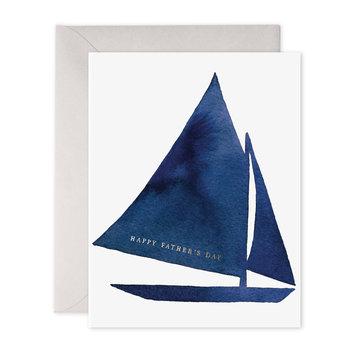 E. Frances Paper Studio Father's Day Sailboat
