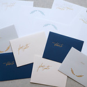 """Little Well Paper Co. """"So Very Grateful"""" Letter Writing Set"""