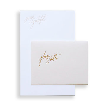 "Little Well Paper Co. ""So Very Grateful"" Letter Writing Set"