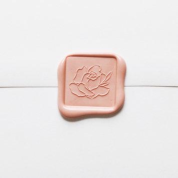 Little Well Paper Co. Rose Flourish Wax Seal Set