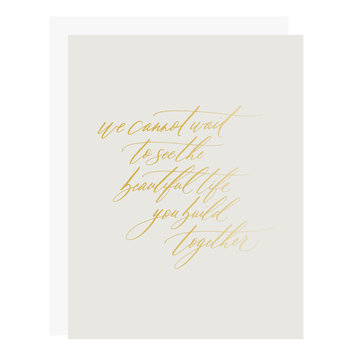 Little Well Paper Co - LWP Beautiful Life Together Card