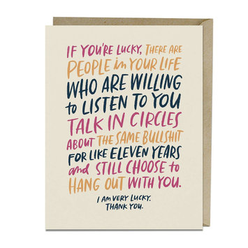 Emily McDowell - EMM Emily McDowell Talk in Circles Card