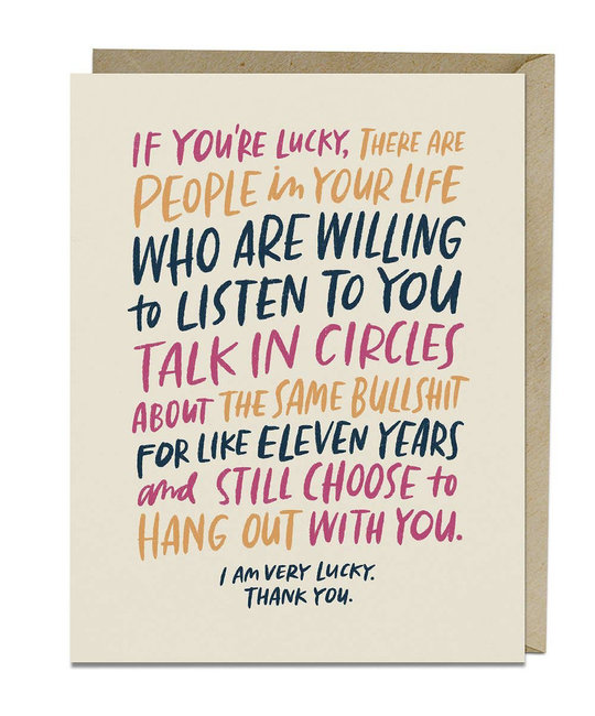 Emily McDowell - EMM Emily McDowell Talk in Circles Card