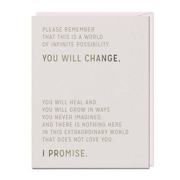 Em + Friends - EMM You Will Change Card
