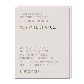 Emily McDowell You Will Change Card