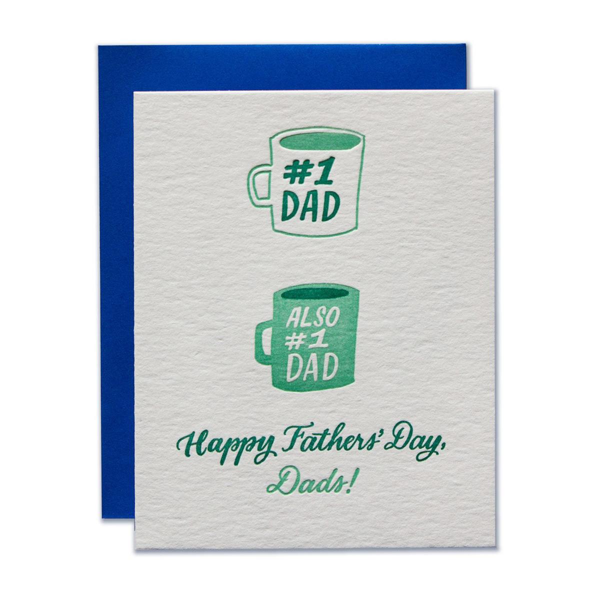 Ladyfingers Letterpress Number 1 Dads