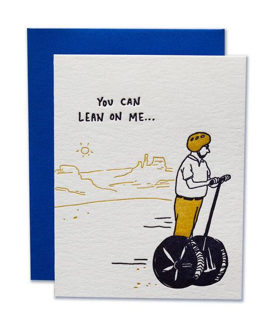 Ladyfingers Letterpress - LF Lean On Me