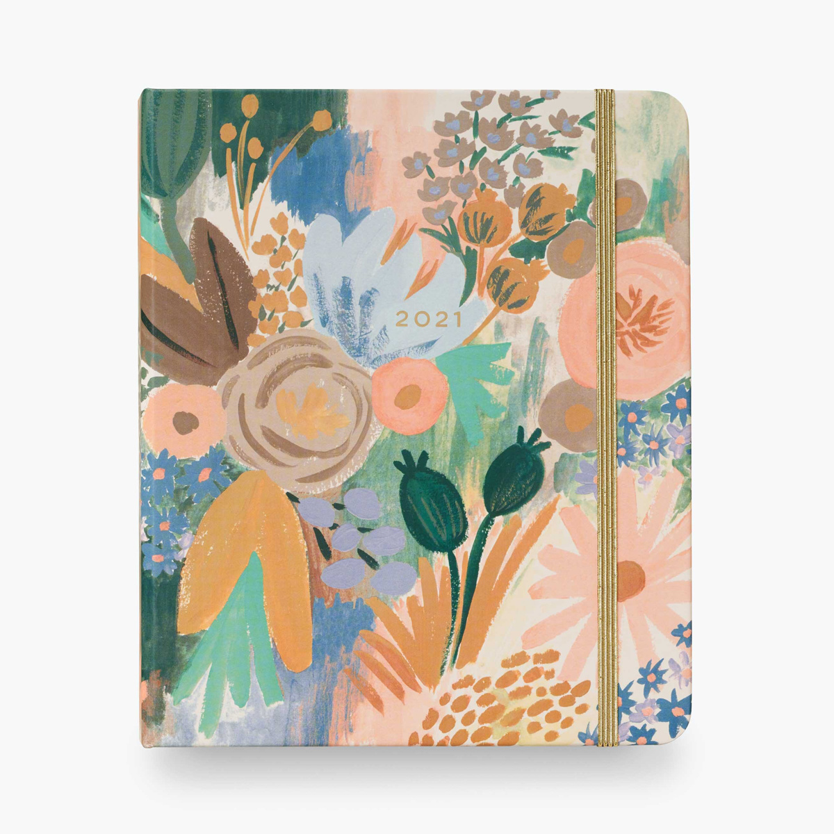 Rifle Paper Co - RP 2021 Luisa Covered Spiral 17 Month Planner