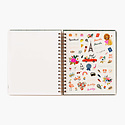 Rifle Paper Co 2021 Wild Garden Hardcover Spiral 17 Month Planner