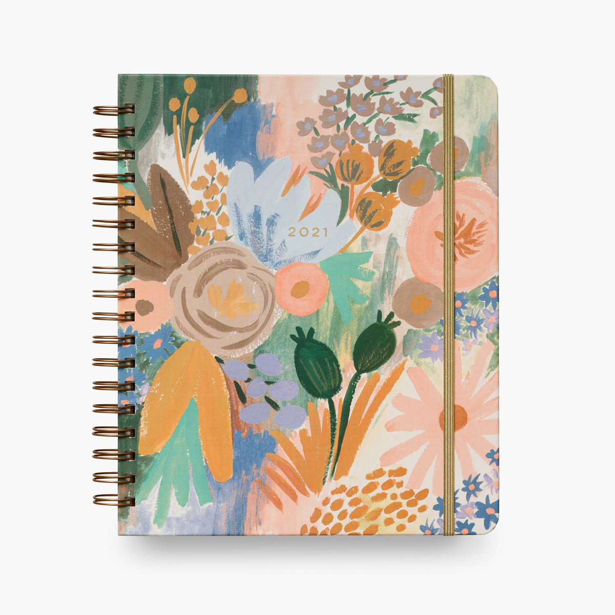 Rifle Paper Co. 2021 Luisa Hardcover Spiral 17 Month Planner