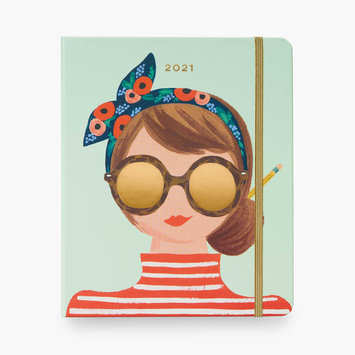Rifle Paper Co. 2021 Type A Covered Spiral 17 Month Planner