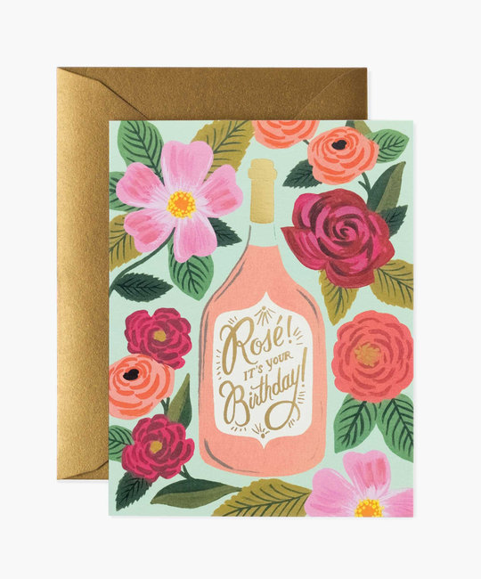 Rifle Paper Co Rosé Its Your Birthday!