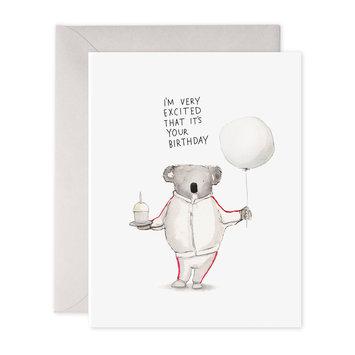 E. Frances Paper Studio Koala Excitement Bday