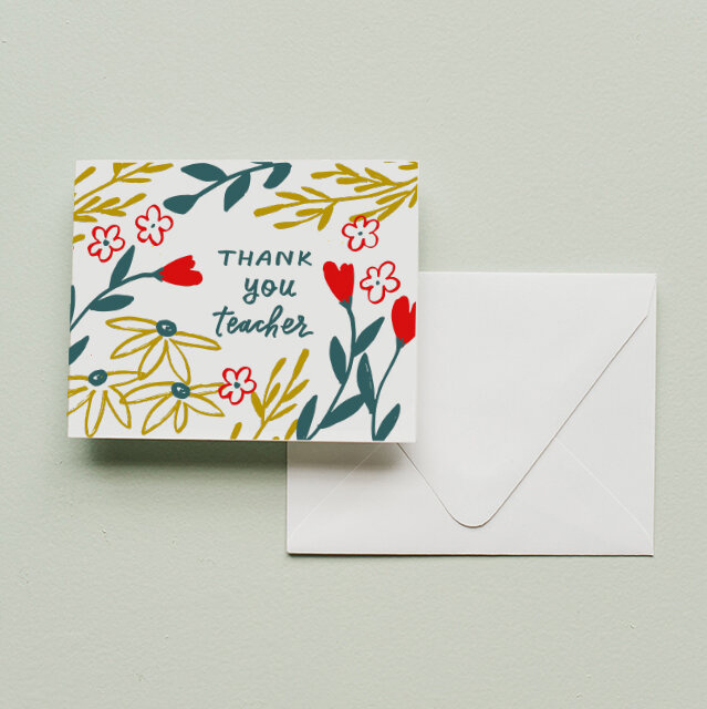 Printerette Press - PRP PRPGCTY0010 - Thank You, Teacher