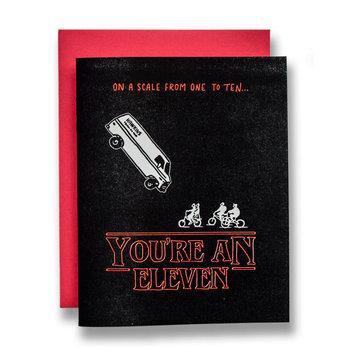 Ladyfingers Letterpress - LF Stranger Things - Eleven