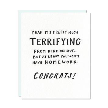 Odd Daughter Paper Terrifying Card